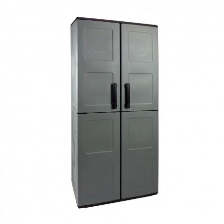 Plastová skříň 68x37x163 cm, 3 police