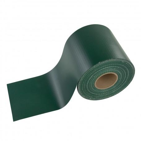 Krycí páska na plot z PVC 19 cm x 35 m, zelená