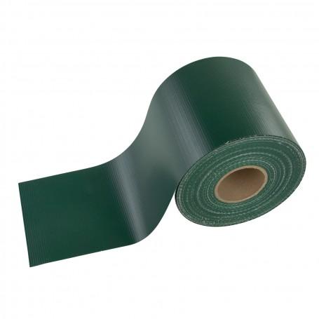 Krycí páska na plot z PVC 19 cm x 70 m, zelená