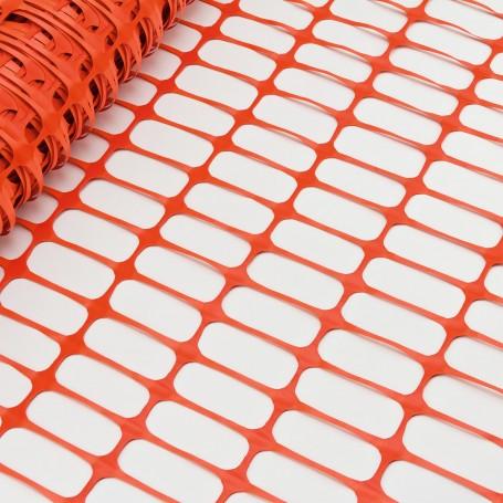 Bezpečnostní stavební plot 30x1 m, oranžový