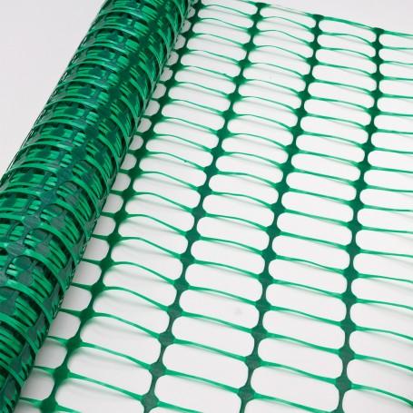 Bezpečnostní stavební plot 30x1 m, zelený