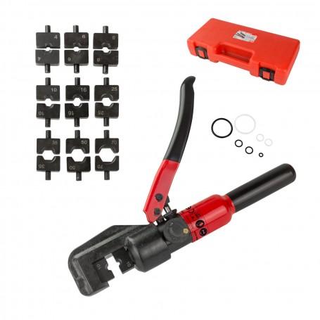 Hydraulické lisovací kleště pro trubková kabelová oka a spojky 4-70 mm²