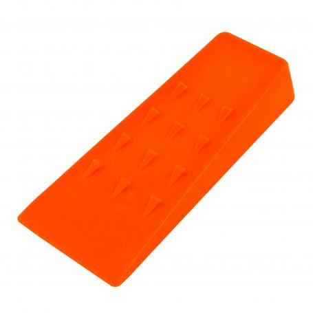 Štípací klín 135x65x25 mm, oranžový