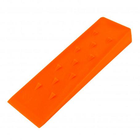 Štípací klín 245x75x30 mm, oranžový