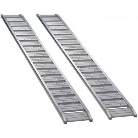 Hliníkové nájezdové rampy do 1000 kg