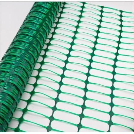 Bezpečnostní stavební plot 50x1 m, zelený