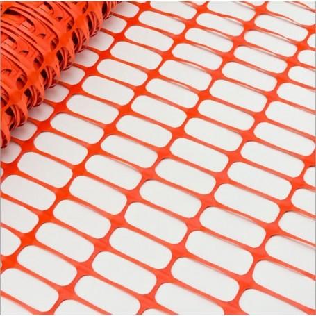 Bezpečnostní stavební plot 50x1 m, oranžový